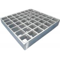 China Galvanized Steel Floor Grating Plate / Industrial Galvanized Metal Grating on sale