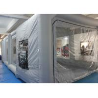Wholesale Outdoor Professional Inflatable Car Paint Booth 210 D Reinforced Oxford from china suppliers