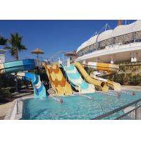 Buy cheap Commercial Water Park Equipment Family Water Slide 1 Year Warranty from wholesalers