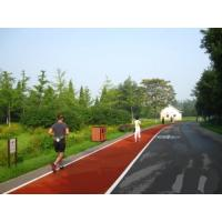 Wholesale Water Resistant Jogging Track Flooring , Thick Protective Soft Track Surfaces from china suppliers