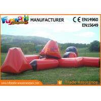 Wholesale multi - color 0.6mm PVC Tarpaulin Inflatable Barriers For Paintball Sports from china suppliers