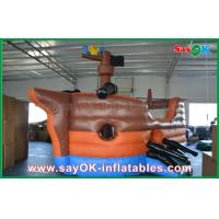 Wholesale Large Corsair Ship Shape Inflatable Bouncer Slide Castle For Kinds Playing from china suppliers