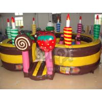 Wholesale Birthday Cake Inflatable Playland from china suppliers