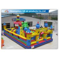 Wholesale Outside Inflatable Amusement Theme Parks With Bounce House Waterproof PVC from china suppliers