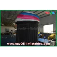 China DIA 2.5m Customized Inflatable Booth Tent , PVC Photo Booth Tent Durable on sale