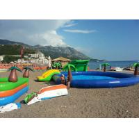 China Interesting Water Park / Beach Inflatable Swimming Pools For Adults CE on sale