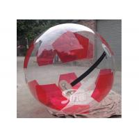 China Custom made soccer type inflatable walk on water ball for kids water park adventure on sale