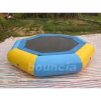 Wholesale Customized 0.9mm PVC Tarpaulin Inflatable Floating Trampoline For Kids Games from china suppliers
