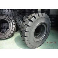 Wholesale Black Solideal Forklift Tires , Pneumatic Forklift Industrial Tyres 8.25-12 from china suppliers
