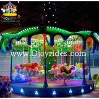 Wholesale Family fun 24 seats carousel kiddie rides from china suppliers