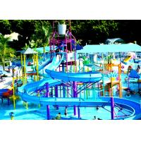 Wholesale Custom Interactive Water House Water Fiberglass Slide from china suppliers