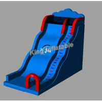 China Commercial Blue Inflatable Water Slides For Kids And Audlt With Size 5m*8m on sale