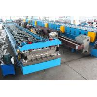 Wholesale 11KW X 2 Floor Deck Roll Forming Machine Chains Drive Wall Board Structure from china suppliers