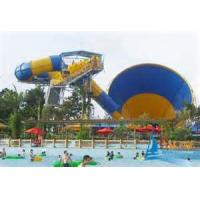 Wholesale Anti - UV Space Bowl Fiber Glass Kids Water Slides Playground , Aqua Park Equipment from china suppliers