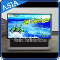 China Led Outdoor Tv Advertising Inflatable Billboard , Tv Billboard Led Outdoor on sale