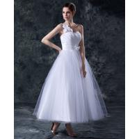 Quality Elegant Heart Shaped tea length wedding dresses gowns in S M L XL XXL size for sale