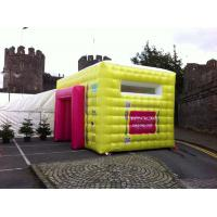 Buy cheap Colorful Mini Inflatable Advertising Tent With High Temperature Resistance from wholesalers