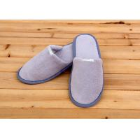 Wholesale 100 Percent Cotton Velour Velvet Disposable Hotel Slippers , Disposable Bathroom Slippers from china suppliers