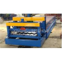 Wholesale Updated Tech Automatic High speed Glazed Steel Roof Tile Roll Forming Machine 828 from china suppliers