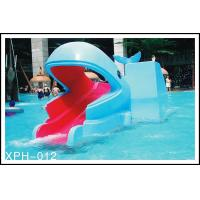 Wholesale Industrial small amusement raft rides , fiberglass pool slide for Kids Water Park from china suppliers