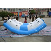China 0.9MM PVC Tarpaulin Kids Inflatable Water Toys Totter For Amusement Park on sale