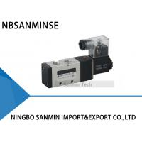 Wholesale 1/4 3/8 1/2 Electrical Pneumatic Solenoid Valve , NBSANMINSE PU520 Air Control Valve from china suppliers