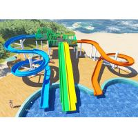 Wholesale Personalized Household Water Park Design Multicolors Fiberglass Body from china suppliers