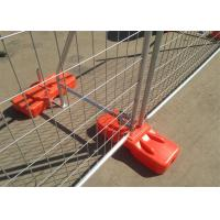 Wholesale Hot Dipped Galvanized Temporary Fence Barriers For Outdoor 2100mmx2400mm from china suppliers