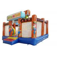 China Outdoor Playground Inflatable Obstacle Course Bouncer For Commercial Event on sale