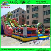 Cheap Kids Inflatable Amusement Park Customized Giant Inflatable Amusement Park Inflatable Fun City
