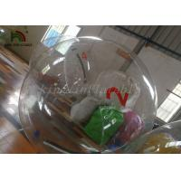 2m Dia PVC Inflatable Walk On Water Ball , Pool Inflatable Water Walking Ball