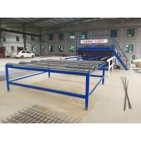 Wholesale Durable Welded Wire Mesh Machine , Reinforcing Mesh Machine For Wire Diameter 5 - 12mm from china suppliers