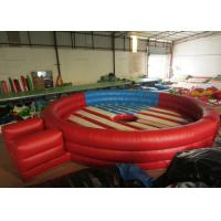Wholesale Amusement Park Inflatable Sports Games Round Blow Up Sports Arena Dia.6m Customized from china suppliers