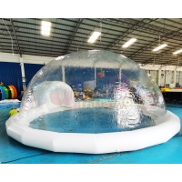Wholesale Single Tunnel Clear Transparent Dome Inflatable Crystal Bubble Tent from china suppliers