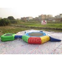 Wholesale 2012 New Design Inflatable Water Trampoline Combo (TRC11) from china suppliers