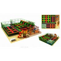 Wholesale 400M2 Discount Large Children Trampoline Gymnastic Indoor Trampoline Equipment from china suppliers