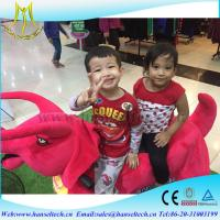 Wholesale Hansel  amusement mall animal electric ride  in and family carousel horse rides from china suppliers