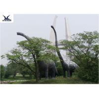 Buy cheap Amusement Facility Animatronic Lifelike Animal Statues Moving Dinosaur Models from wholesalers