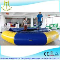 China Hansel goos sell inflatable pool raft amusement water games for family on sale