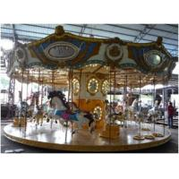Wholesale 24 Pax Royal Carousel Family Fun Ride Entertainment Equipment 8kw from china suppliers
