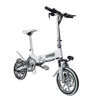 Wholesale Mini Portable Folding Electric Bike / Fold Up Electric Bicycle 36V7.8Ah 14 Inch from china suppliers