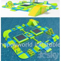 Wholesale Inflatable Aqua park , inflatable giant water park , inflatable floating water sport from china suppliers