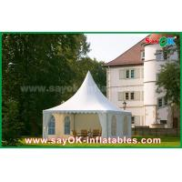 Wholesale Waterproof 10x10 Aluminum PVC Folding Tent China 10x10 Pagoda Tent from china suppliers
