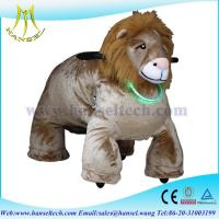 Wholesale Hansel stuffed animals with wheel coin toys motorized plush riding animals from china suppliers