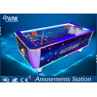Wholesale Electronic Video Game Machine Air Hockey Arcade Machine Attractive Lights Metal Material from china suppliers