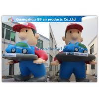 China Giant Inflatable Cartoon Characters Air Big Boy 7m for Advertising Decoration on sale