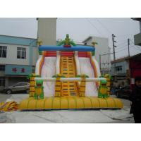 Wholesale 0.55mm PVC Tarpaulin Kids Forest Commercial Inflatable Slides YHS 031 for Party Funny from china suppliers