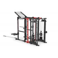 Professional Commercial Multi Station Gym Equipment , Cable Power Combo Rack for sale