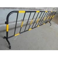 China Crowd Control Pedestrian Safety Barriers Aluminum Barricade Detachable Feet on sale
