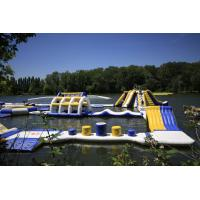 Buy cheap France Outdoor Inflatable Water Park Games For Adults / Inflatable Water Park from wholesalers